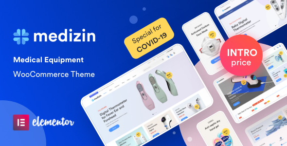 Medical Elementor WooCommerce Theme – Medizin Preview