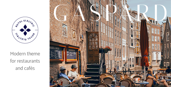 Gaspard - Restaurant and Coffee Shop Theme