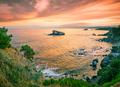 Bay with stones of Aphrodite on Akamas Peninsula - PhotoDune Item for Sale
