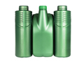 Green Plastic Containers for Engine Lubricants - PhotoDune Item for Sale