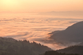 Clouds in mountains at sunrise - PhotoDune Item for Sale