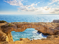 Famous Lovers Bridge or Raven Arch on Cape Cavo Greco - PhotoDune Item for Sale