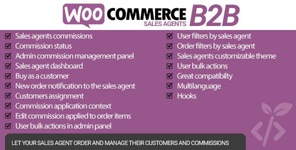 WooCommerce B2B Sales Agents Download