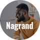 Nagrand - One Page Creative HTML Template - ThemeForest Item for Sale