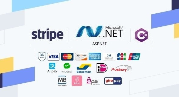 Stripe Checkout in the ASP.NET custom Web Forms application built with C# and JavaScript