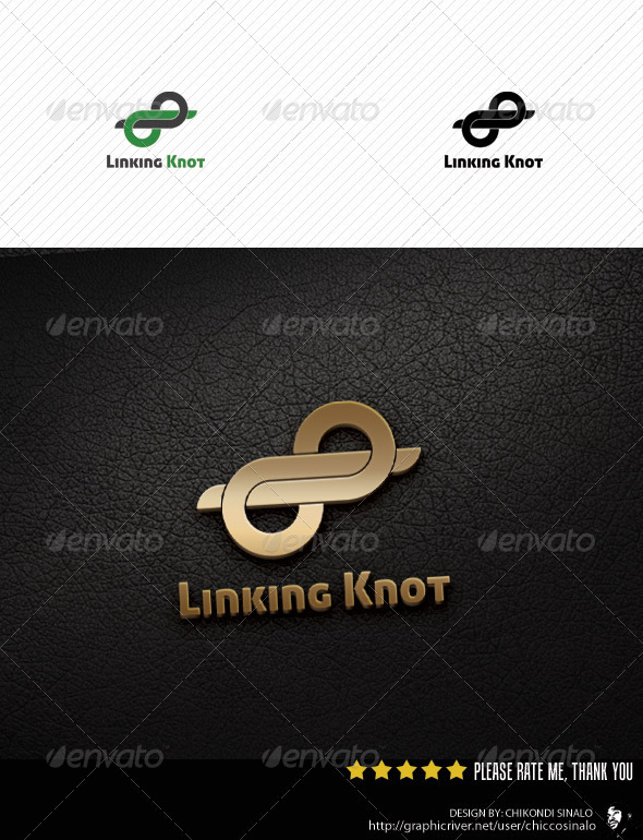 Linking Knot Logo Template