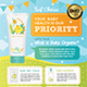 Kids Product Flyer - GraphicRiver Item for Sale