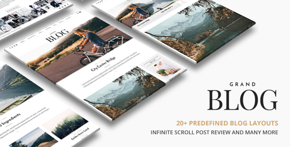 Grand Blog WordPress Download