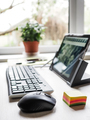 Improvised home office for teleworking - PhotoDune Item for Sale