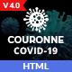 Couronne - Corona virus (Covid-19) HTML Template - ThemeForest Item for Sale