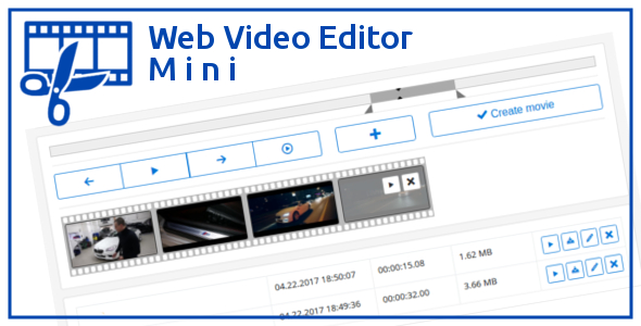 Web Video Editor Mini Download
