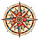 Compass Wind Rose - GraphicRiver Item for Sale