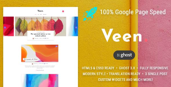Veen - Minimal blog for Ghost