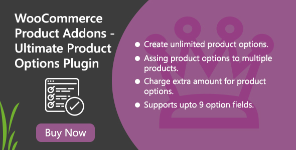 WooCommerce Product Addons – Ultimate Product Options PluginPrice : $21
