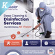 Cleaning & Disinfection Services Flyer Templates - GraphicRiver Item for Sale