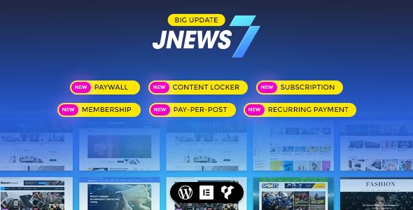 JNews - WordPress Newspaper Magazine Blog AMP Theme 4