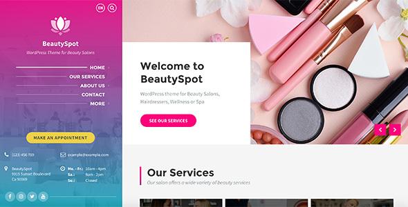 BeautySpot - WordPress Theme for Beauty Salons Download
