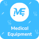 Medical Equipment - PPE Kit Responsive HTML Template - ThemeForest Item for Sale