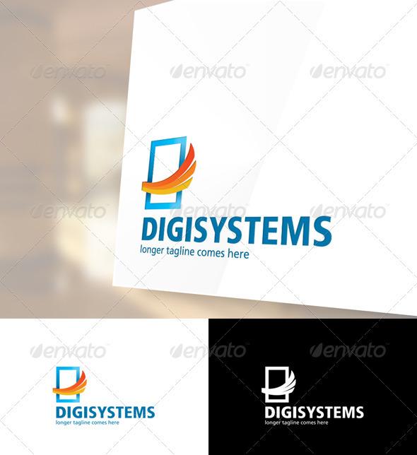 Digisystems Logo Template