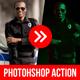 Neon Light Studio Photoshop Action - GraphicRiver Item for Sale