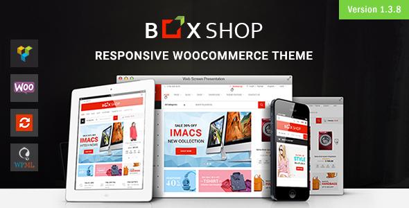 BoxShop - Responsive WooCommerce WordPress Theme Download