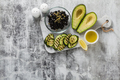salad with rice with zucchini, avocado, olives and capers - PhotoDune Item for Sale