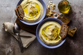 mashed cauliflower with cashew nuts in plates - PhotoDune Item for Sale