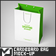 Small Cardboard Shopping Bag Mock-Up - GraphicRiver Item for Sale