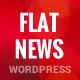 FlatNews – Responsive Magazine WordPress Theme - ThemeForest Item for Sale
