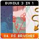 84 Hand-drawn Arrows Flowers Clouds Vector Doodles Photoshop Brushes Bundle - GraphicRiver Item for Sale
