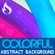 Colorful Abstract Background  - GraphicRiver Item for Sale