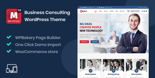Review: Majed - Business Consulting WordPress Theme free download Review: Majed - Business Consulting WordPress Theme nulled Review: Majed - Business Consulting WordPress Theme