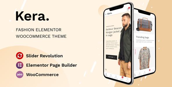 Kera – Fashion Elementor WooCommerce Theme Preview