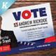 Election Campaign Postcard Templates - GraphicRiver Item for Sale