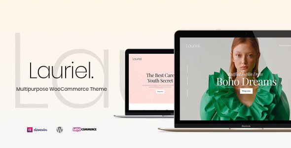 Lauriel – Multipurpose WooCommerce Theme Preview