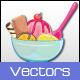 Dessert Vectors - GraphicRiver Item for Sale