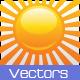 Sun Vectors - GraphicRiver Item for Sale