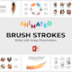 Brush Strokes - Animated Slides for PowerPoint Presentation - GraphicRiver Item for Sale