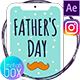 Father's Day Stories & Posts - VideoHive Item for Sale