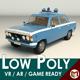 Low Poly Police Car 05 - 3DOcean Item for Sale
