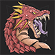 Dragon Head Angry - GraphicRiver Item for Sale
