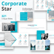 Corporate Star Keynote Template - GraphicRiver Item for Sale