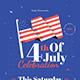 4th of July Celebration Flyer Set - GraphicRiver Item for Sale