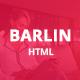 Barlin - Portfolio Template - ThemeForest Item for Sale