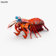 Mantis Shrimp HD - 3DOcean Item for Sale