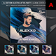 DJ Edition After Party - Music Album Cover Artwork Template - GraphicRiver Item for Sale