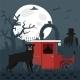 Sherlock Baskervilles Dog Hound Vector - GraphicRiver Item for Sale