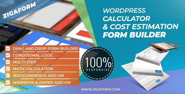 Zigaform - WordPress Calculator & Cost Estimation Form Builder Download