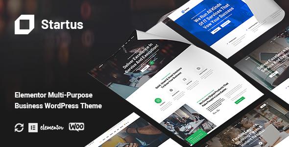 Startus - Multipurpose Business WordPress Theme