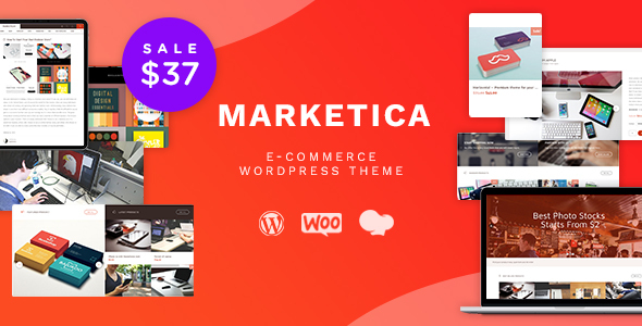 Marketica - eCommerce and Marketplace - WooCommerce WordPress Theme Download